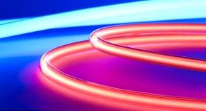 Fundo abstrato das luzes de néon Imagem de Stock Royalty Free