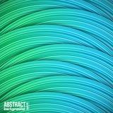 Fundo abstrato das tiras horizontais coloridas Imagem de Stock