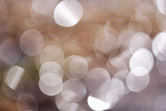 Fundo abstrato de anéis claros Imagem de Stock