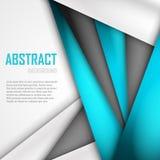 Fundo abstrato de azul, do branco e do preto Imagens de Stock Royalty Free