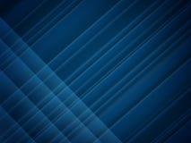Fundo abstrato de Blue Line ilustração stock