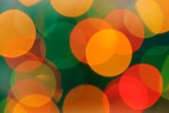 Fundo abstrato de círculos coloridos Fotografia de Stock