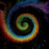 Fundo abstrato de cores do redemoinho Fotos de Stock
