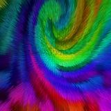 Fundo abstrato de cores vívidas Fotos de Stock Royalty Free