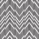 Fundo abstrato de desenhos em espinha Teste padrão sem emenda de Ikat Foto de Stock Royalty Free