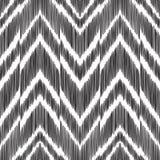 Fundo abstrato de desenhos em espinha Teste padrão sem emenda de Ikat Fotos de Stock Royalty Free