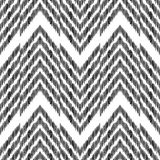 Fundo abstrato de desenhos em espinha Teste padrão sem emenda de Ikat Fotos de Stock