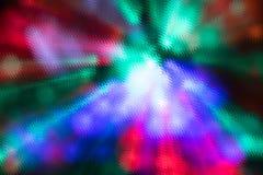 Fundo abstrato de flashes iridescentes coloridos Fotografia de Stock Royalty Free