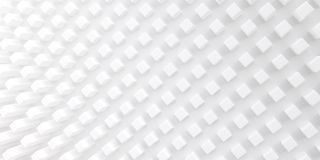 Fundo abstrato de formas geométricas tridimensionais Textura branca com sombras macias fotos de stock royalty free