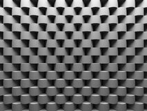 Fundo abstrato de Gray Round Pattern Wall Architecture ilustração do vetor