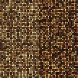 Fundo abstrato de intervalo mínimo do mosaico do ouro ilustração stock