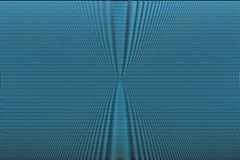 Fundo abstrato de intervalo mínimo de néon azul Textura hipnótica da ilusão ótica Teste padrão do efeito do pulso aleatório ilustração royalty free
