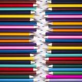 Fundo abstrato de lápis coloridos Foto de Stock