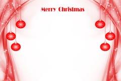 Fundo abstrato de luzes de Natal ilustração stock