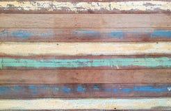 Fundo abstrato: Fundo de madeira retro do Grunge com pa do óleo fotos de stock