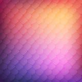 Fundo abstrato de pilhas coloridas Imagens de Stock Royalty Free