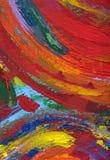 Fundo abstrato de pintura da textura ilustração stock