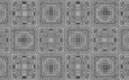 Fundo abstrato de quadrados cinzentos metálicos Fotografia de Stock Royalty Free