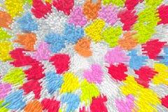 Fundo abstrato de retangular, quadrado, cúbico Fotos de Stock Royalty Free