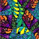 Fundo abstrato de testes padrões geométricos Imagem de Stock Royalty Free