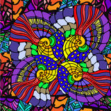 Fundo abstrato de testes padrões geométricos Imagens de Stock Royalty Free