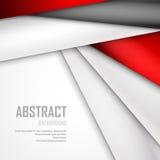 Fundo abstrato de vermelho, do branco e do preto Foto de Stock Royalty Free