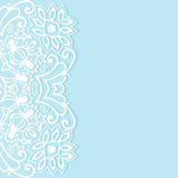 Fundo abstrato decorativo, cartão ornamentado do laço ou convite Fotografia de Stock Royalty Free