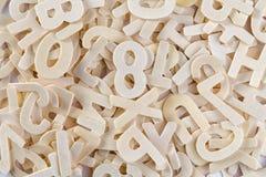 Fundo abstrato do alfabeto Imagens de Stock Royalty Free