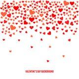 Fundo abstrato do amor do vetor para seu projeto do dia de Valentim Imagens de Stock
