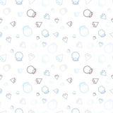 Fundo abstrato do anel de diamante Ilustração do Vetor