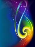 Fundo abstrato do arco-íris Foto de Stock Royalty Free