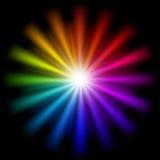 Fundo abstrato do arco-íris Fotos de Stock