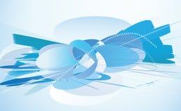 Fundo abstrato do azul Foto de Stock