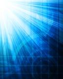 Fundo abstrato do azul da tecnologia. Fotografia de Stock