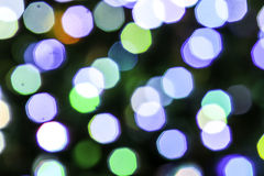 Fundo abstrato do bokeh Luzes defocused macias Fotografia de Stock Royalty Free