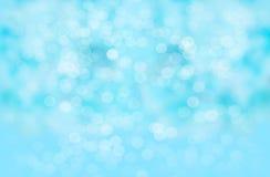 Fundo abstrato do borrão: Bokeh azul bonito foto de stock royalty free