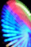 Fundo abstrato do borrão da grande roda de Ferris fotografia de stock