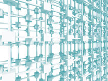 Fundo abstrato do branco da estrutura da construção Fotografia de Stock