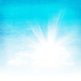 Fundo abstrato do céu do Grunge Imagens de Stock