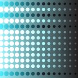 Fundo abstrato do c?rculo na ilustra??o azul do vetor da cor ilustração do vetor