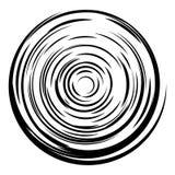 Fundo abstrato do círculo O radial alinha o fundo ilustração royalty free