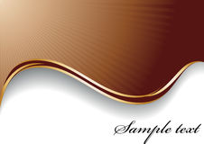 Fundo abstrato do chocolate imagem de stock royalty free
