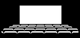 Fundo abstrato do cinema Fotos de Stock
