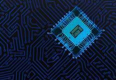 Fundo abstrato do circuito Imagens de Stock