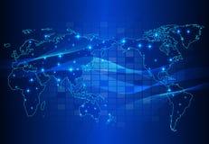 Fundo abstrato do circuito da tecnologia Imagens de Stock