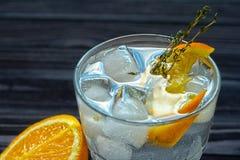 Fundo abstrato do cocktail com espaço da cópia Fotos de Stock