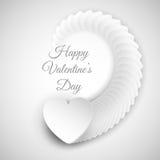 Fundo abstrato do coração para o dia de Valentim ilustração royalty free