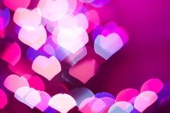 Fundo abstrato do coração Imagens de Stock