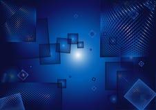 Fundo abstrato do cubo Imagens de Stock