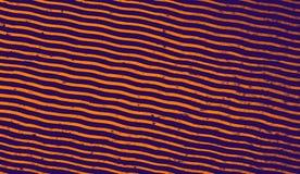 Fundo abstrato do duotone Textura de intervalo mínimo Fundo na moda do projeto do inclinação do synthwave foto de stock
